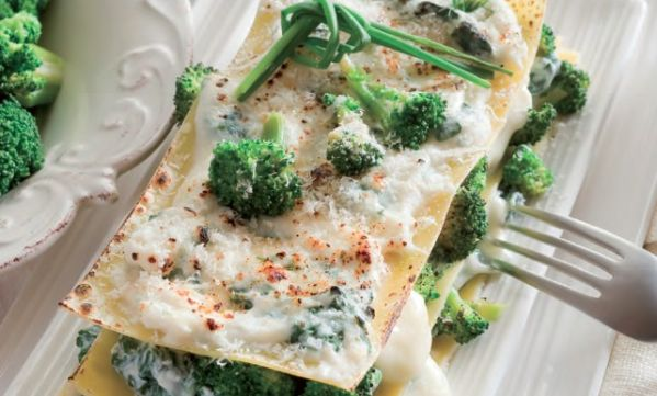 Lazane s brokolicou |