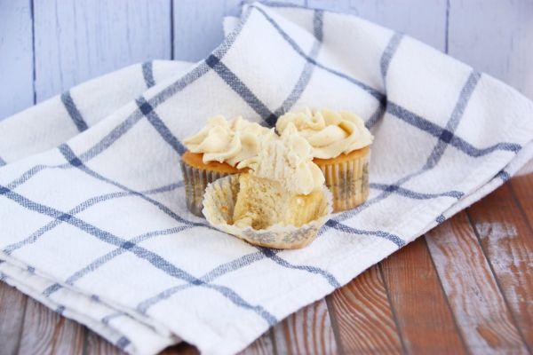Lahodné vanilkové cupcakes |
