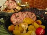 Talianske bravčové plnené karé v dubákovom kréme / Arista di ...