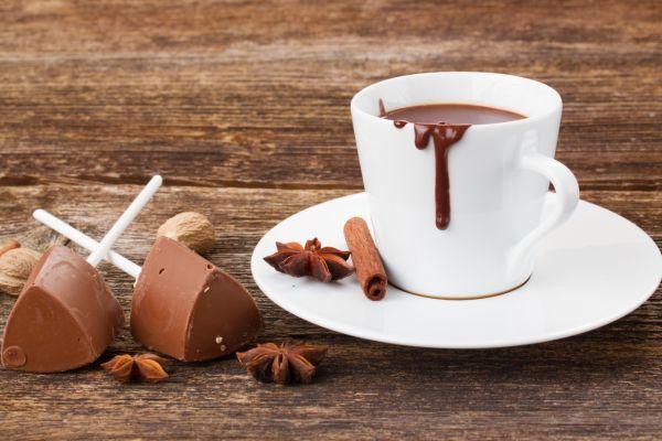 Horúca čokoláda na paličke |
