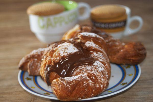 Čokoládové croissanty |