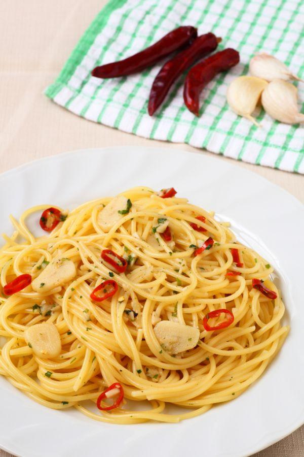 Spaghetti aglio e olio |