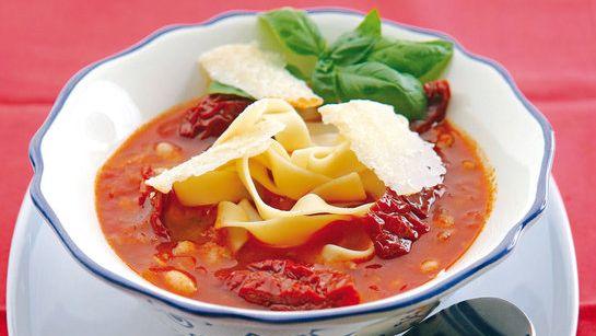 Fazuľová talianska polievka |