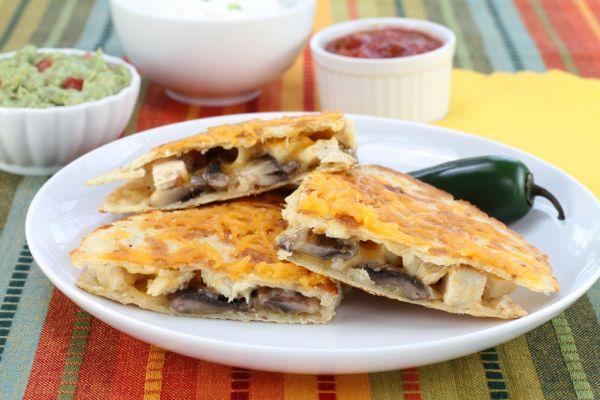 Šampiňónová tortilla |