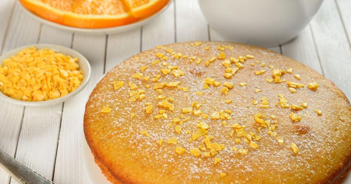 Opitý pomarančový koláč, fotogaléria 1 / 1.
