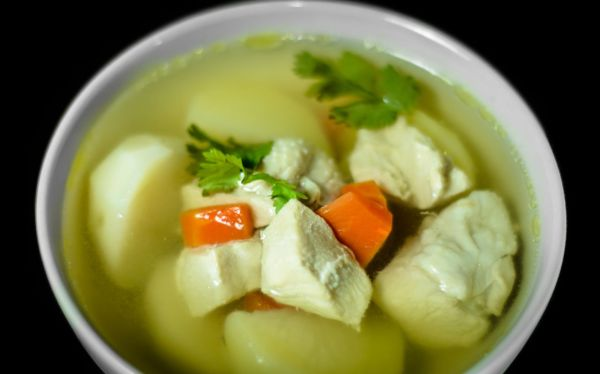 Bravčová polievka so zemiakmi  