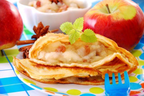 Jablková omeleta |