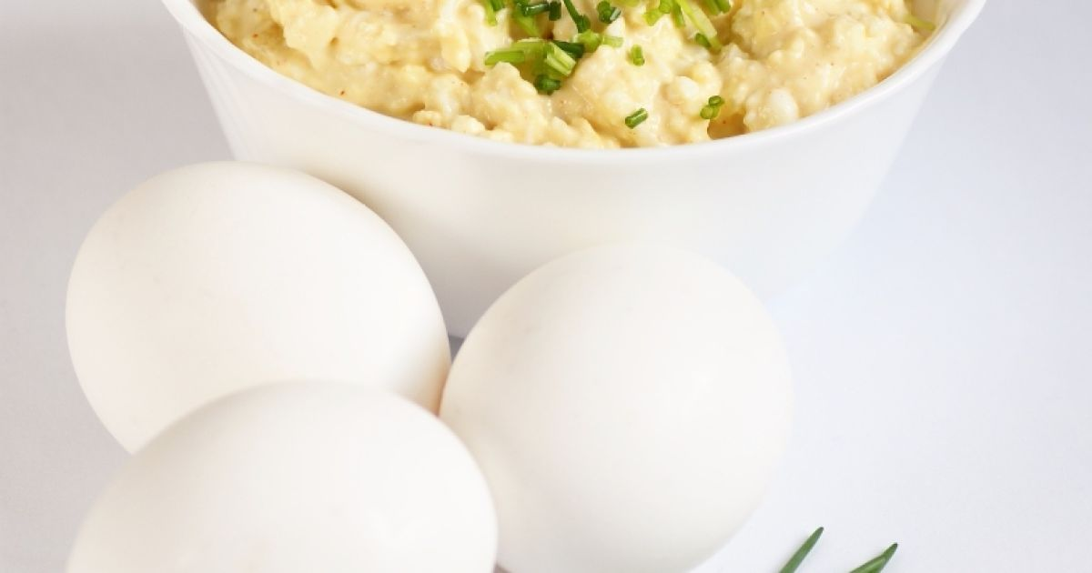 Pohánková nátierka s vajcami, fotogaléria 1 / 1.