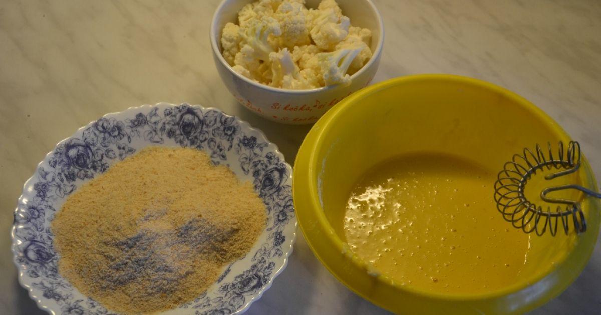 Vyprážaný karfiol na pekáči, fotogaléria 3 / 6.