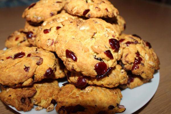 Brusnicové cookies |