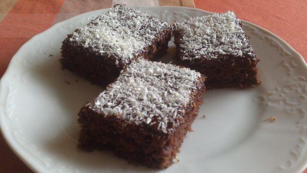 Cuketový koláč s kokosom |