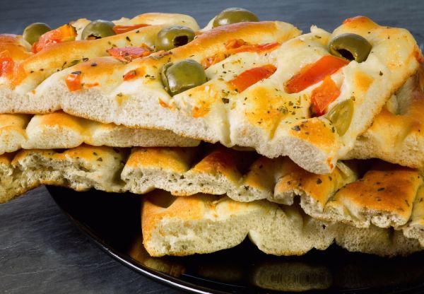 Chlieb focaccia |