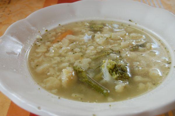 Karfiolová polievka |