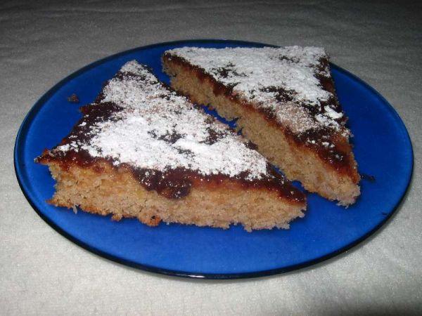 Šťavnatý jablkový koláč |