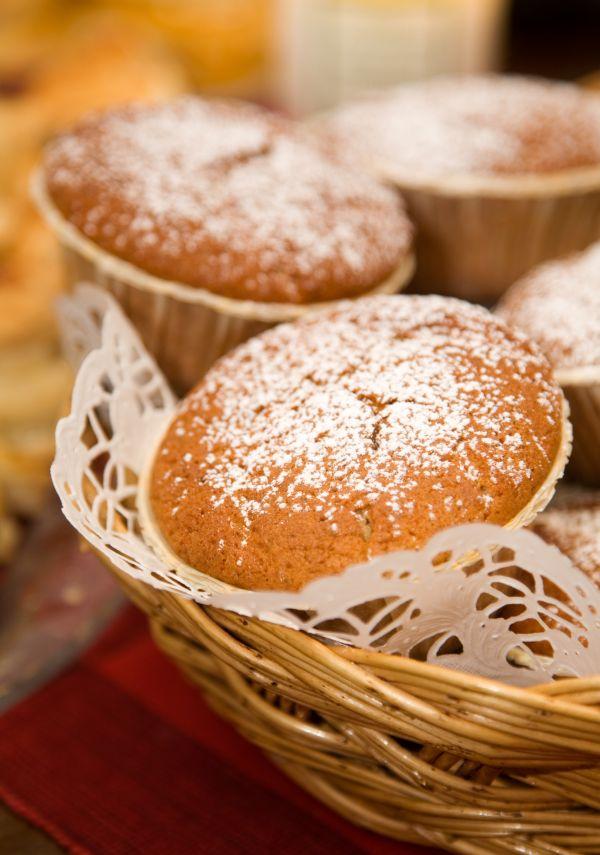 Vianočné muffiny s príchuťou perníka |