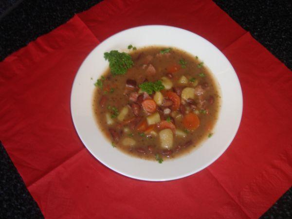 Fazuľová polievka Andrlka |
