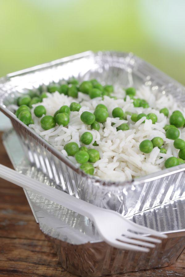 Hrášok s ryžou |
