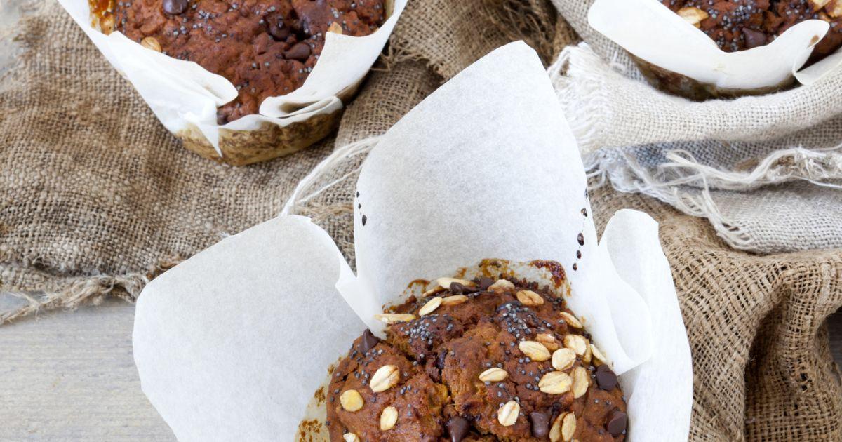 Tekvicové muffiny, fotogaléria 1 / 1.
