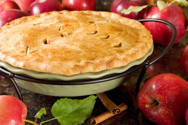 Americký jablkový koláč  
