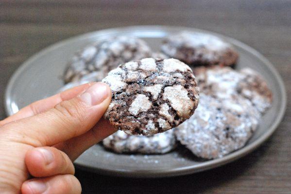 Popraskané špaldové cookies |