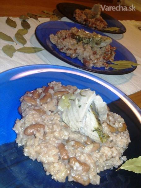 Kubánska ryža s pečeným mäsom (fotorecept)  Recept