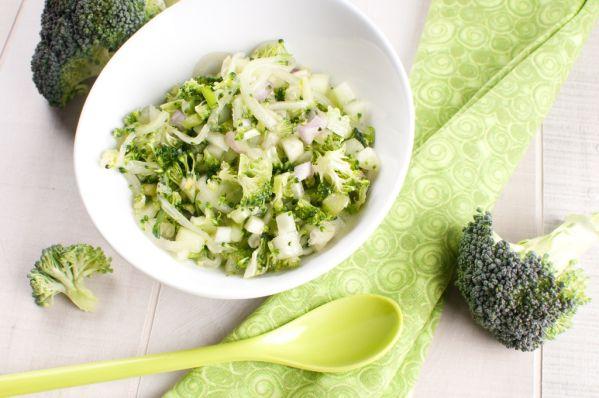 Brokolica s cesnakom a citrónom |