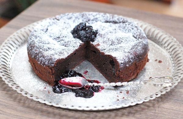 Čokoládová torta bez múky |