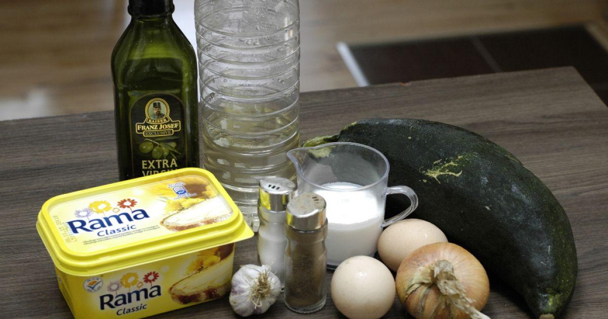 Cuketový prívarok s pošírovaným vajíčkom, fotogaléria 2 ...