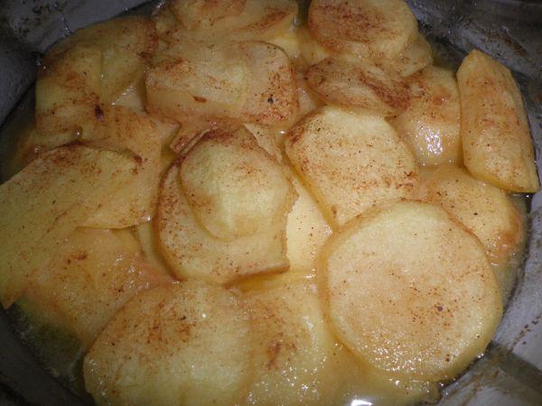 Pečené škoricové jabĺčka  