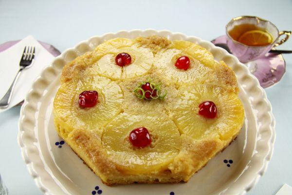 Obrátený ananásový koláč |
