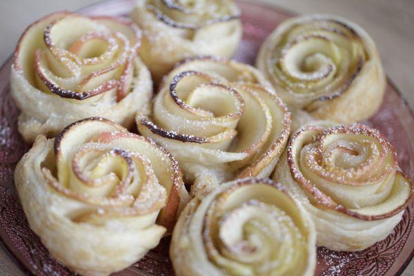 Jablkové ružičky |