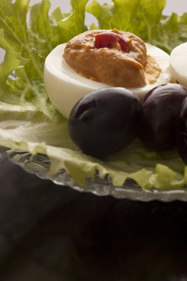 Plnené vajíčko na pikantný spôsob |