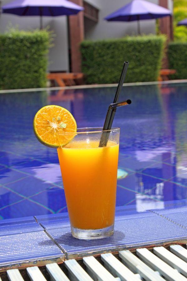 Raňajkový citrusový nápoj |