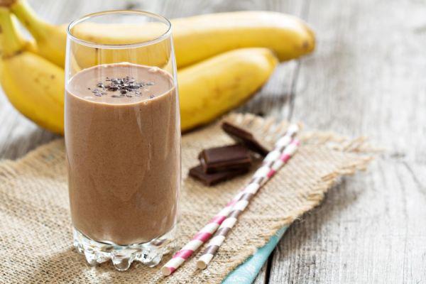 Kávovo-banánový smoothie |