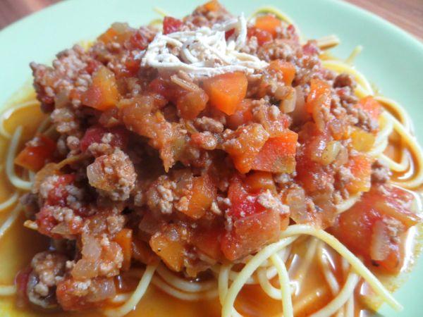 Bolonská mäsová zmes na špagety |