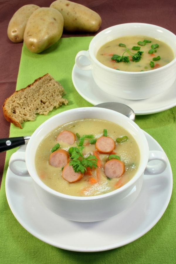 Maurská zemiaková polievka |