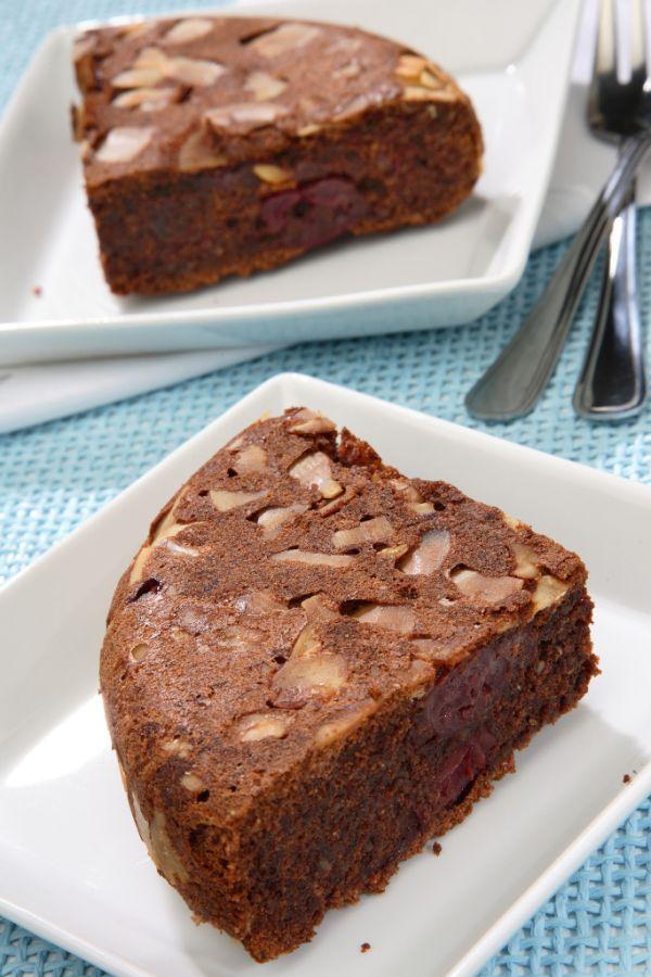 Čokoládový koláč s čerešňami |