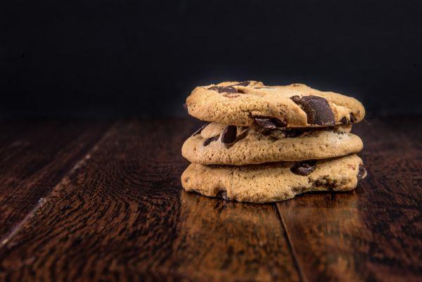Pravé americké cookies s kúskami čokolády |