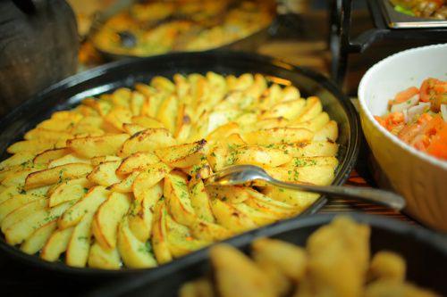 Francúzske zemiaky bez smotany |