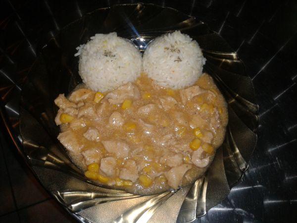 Kuracie soté s kukuricou |