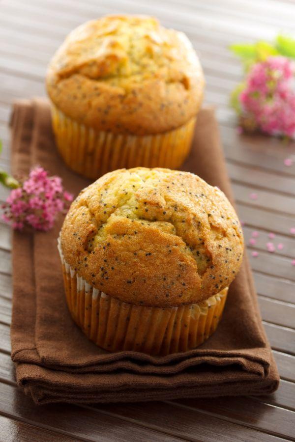 Makové muffiny |