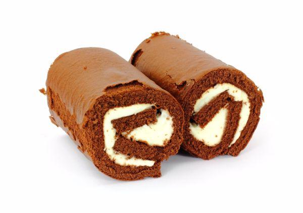 Kakaová roláda so šľahačkou |