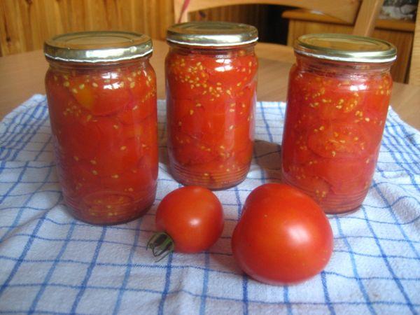 Zavárané paradajky |