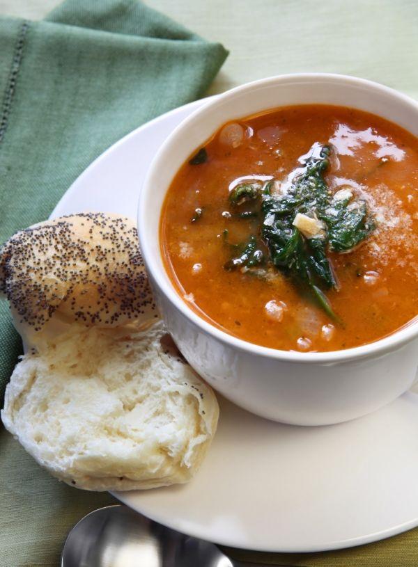 Toskánska fazuľová polievka |