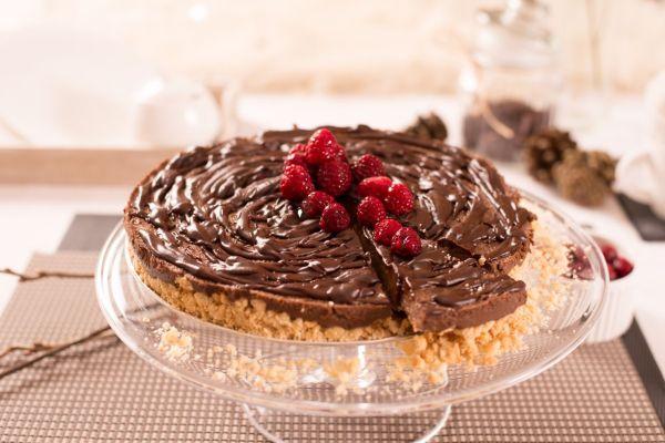 Čokoládová nepečená torta s tofu |