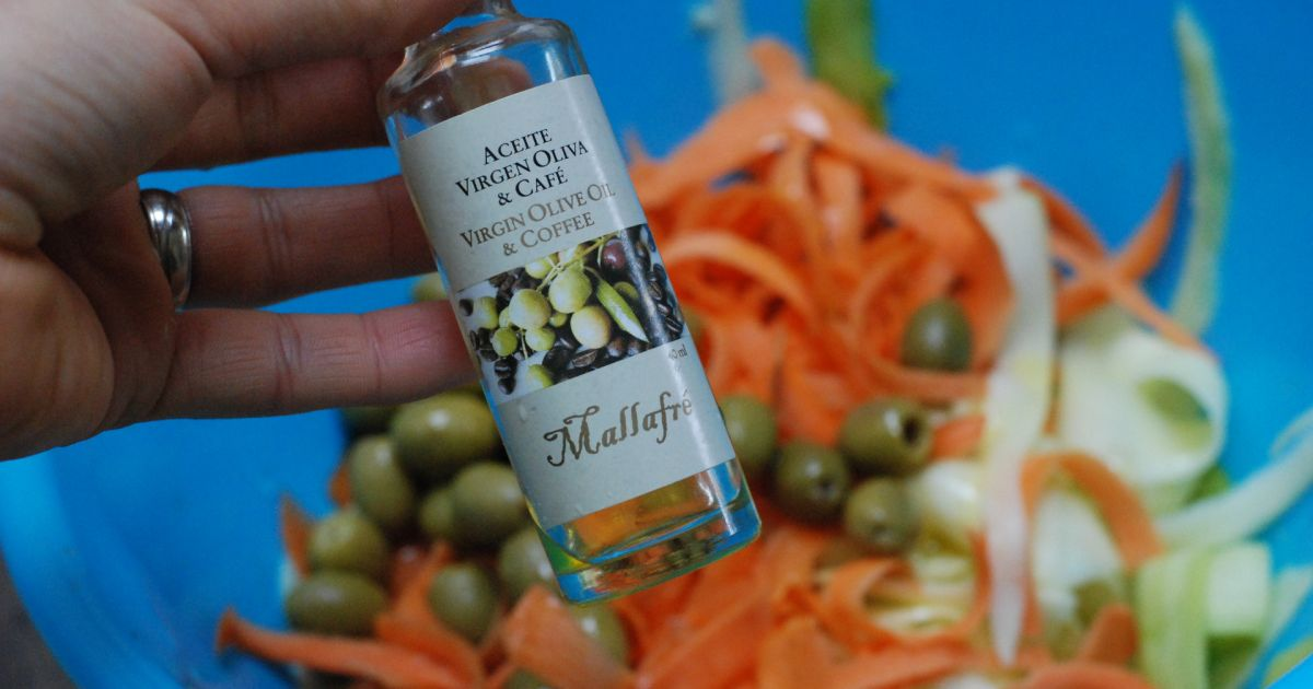 Cuketovo-mrkvový šalát s olivami, fotogaléria 6 / 8.