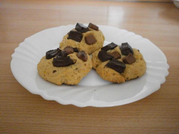 Americké cookies s dvojitou čokoládou |
