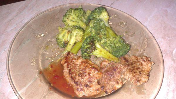 Panenka s brokolicou |