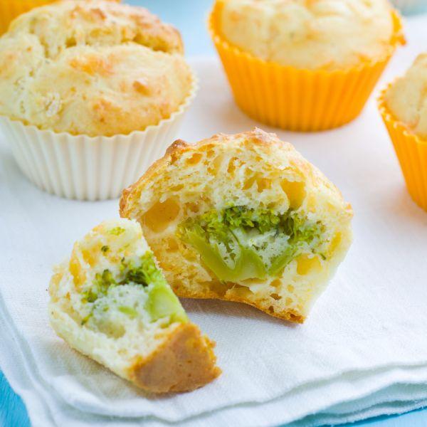 Muffiny s brokolicou |