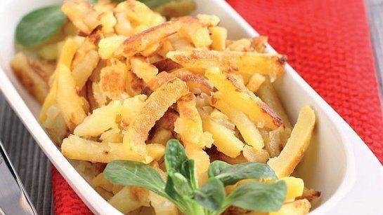 Cibuľové opekané zemiaky |